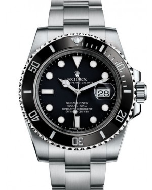 Rolex Oyster Perpetual Submariner Date Mens 116610LN