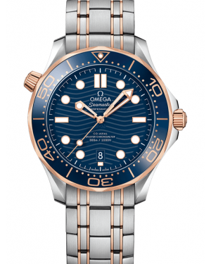 Omega Seamaster Diver 300m Co-Axial Master Chronometer 42mm Mens 210.20.42.20.03.002
