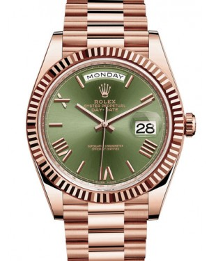 Rolex Oyster Perpetual Day-Date 40mm EveRose Gold 228235-0025