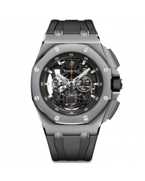 Audemars Piguet Royal Oak Offshore Tourbillon Chronograph Mens 26407TI.GG.A002CA.01