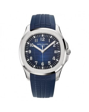 Patek Philippe Aquanaut White Gold Mens 5168G-001