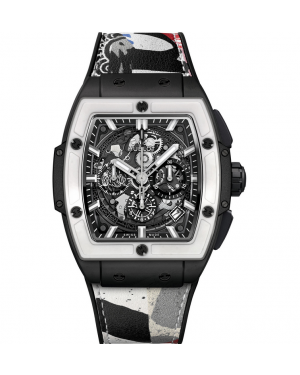 "Hublot Spirit of Big Bang ""West Coast Ceramic Black and White"" 641.CI.0112.VR.EWC17"