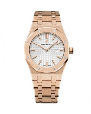 Audemars Piguet Royal Oak Frosted Gold Quartz 67653OR.GG.1263OR.01