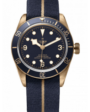Tudor Black Bay Bronze Blue Bucherer Edition 79250BB-0001