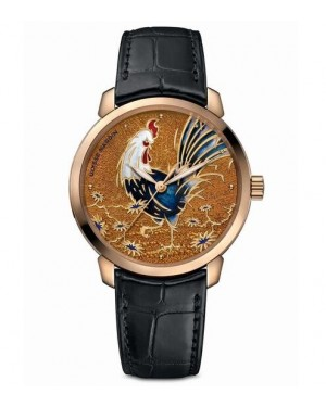 "Ulysse Nardin Classico ""Year Of The Rooster"" 8152-111-2/ROOSTER"