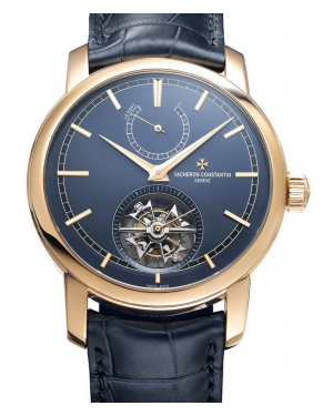 Vacheron Constantin Traditionnelle 14-Day Tourbillon Bucherer Blue Editions 89000/000R-B514