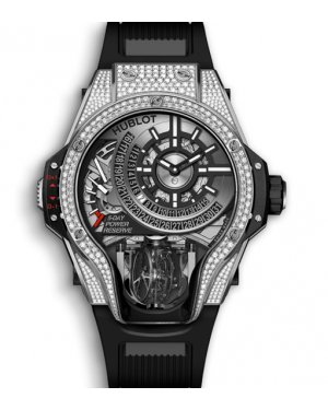 Hublot Masterpiece MP-09 Tourbillon Bi-Axis Titanium Diamonds 909.NX.1120.RX.1704