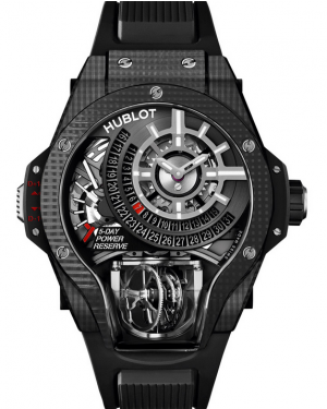 Hublot MasterPiece MP-09 Tourbillon Bi-Axis 3D Carbon Mens 909.QD.1120.RX