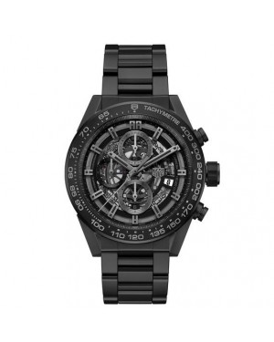 Tag Heuer Carrera Calibre Heuer 01 Automatic Chronograph Full Black Matt Ceramic CAR2A91.BH0742