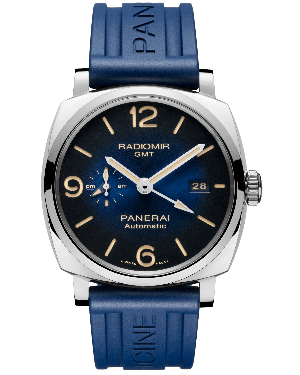 Panerai Radiomir 1940 3 Days Automatic GMT Acciaio 45mm Mens PAM00956