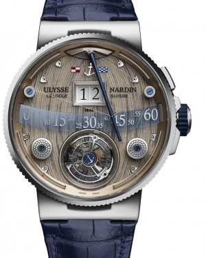 Ulysse Nardin Grand Deck Marine Tourbillon Mens 6300-300/GD