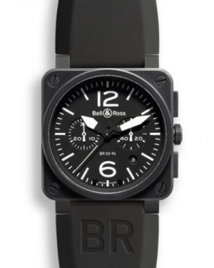 Bell & Ross BR 03 94 Carbon Chronograph BR0394BLCA