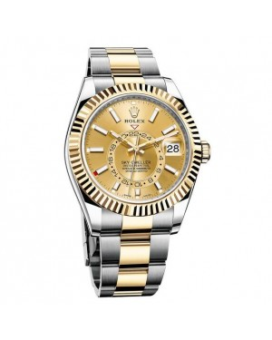 Rolex Oyster Perpetual Sky-Dweller Dual Time Zone Automatic 326933