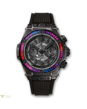 Hublot Big Bang Unico All Black Sapphire Galaxy 411.JB.4901.RT.4098