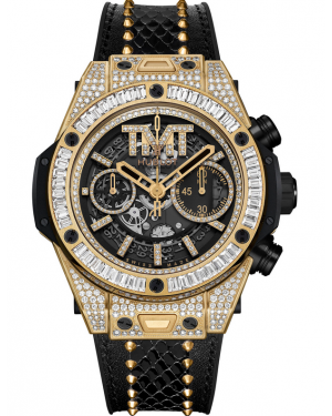 Hublot Big Bang Unico TMT Yellow Gold Jewellery 411.VX.1180.PR.0904.TMT18