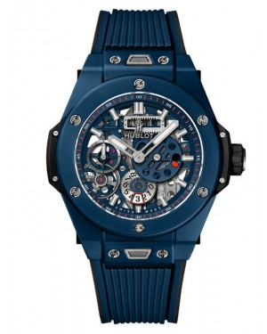 Hublot Big Bang MECA-10 Ceramic Blue 414.EX.5123.RX