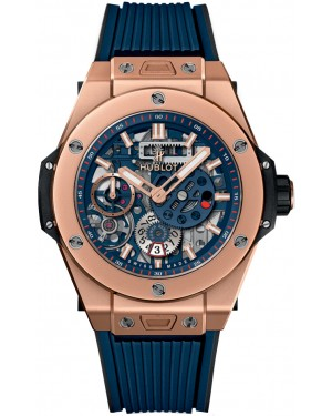 Hublot Big Bang MECA-10 King Gold Blue 414.OI.5123.RX
