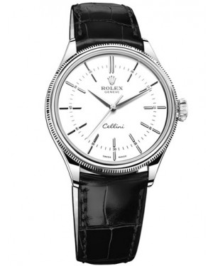 Rolex Cellini Time 18ct White Gold 50509-0016