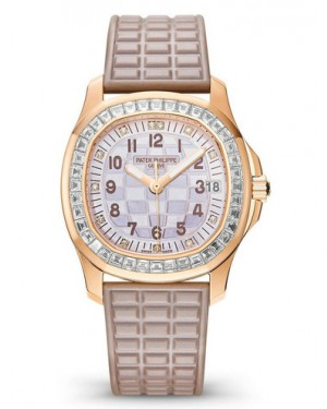 Patek Philippe Aquanaut Rose Gold Ladies 5072R-001