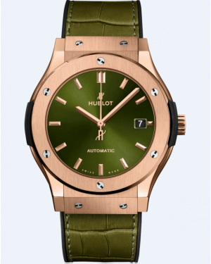Hublot Classic Fusion King Gold Green 511.OX.8980.LR