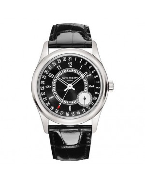 Patek Philippe Calatrava White Gold Mens 6006G-001
