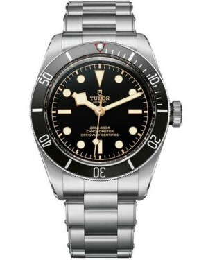 Tudor Heritage Black Bay Matt Black Disc Steel Strap 79230N-02
