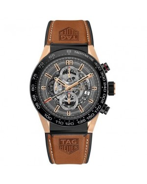 Tag Heuer Carrera Heuer-01 Rose Gold CAR2A5C.FT6125