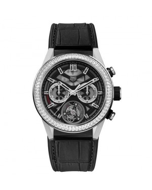Tag Heuer Carrera Heuer-02T Baguette Diamond CAR5A81.FC6377