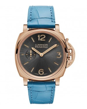 Panerai Luminor Due 3 Days Oro Rosso Mens PAM00677