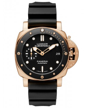 Panerai Luminor Submersible 1950 3 Days Automatic Oro Rosso PAM00684