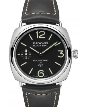 Panerai Radiomir Black Seal 3 Days Acciaio 45mm Mens PAM00754