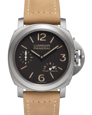 Panerai Luminor 8 Days Power Reserve Titanio 44mm Mens PAM00797