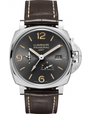 Panerai Luminor Due 3 Days GMT Power Reserve Automatic Acciaio PAM00944
