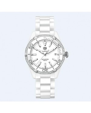 Tag Heuer Aquaracer 300M White Dail 35MM Ladies WAY1396.BH0717