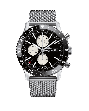 Breitling Chronoliner Black Mens Y2431012/BE10/152A