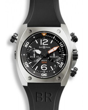 Bell & Ross BR 02 94 Chronograph Steel BR02CHRBLST