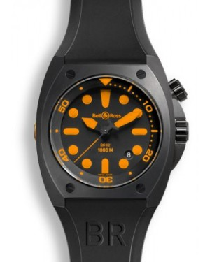Bell & Ross BR 02-92 Orange BR02ORANGE
