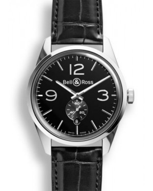 Bell & Ross BR 123 Officer Black BRG123BLSTSCR