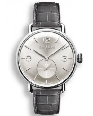 Bell & Ross WW1 Argentium Silver BRWW1MEAGSISCR